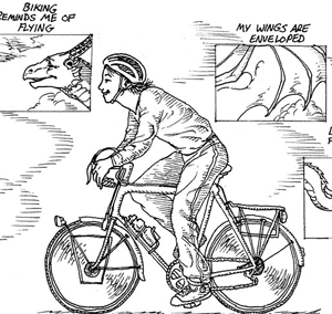 A thumbnail of a bicyclist.